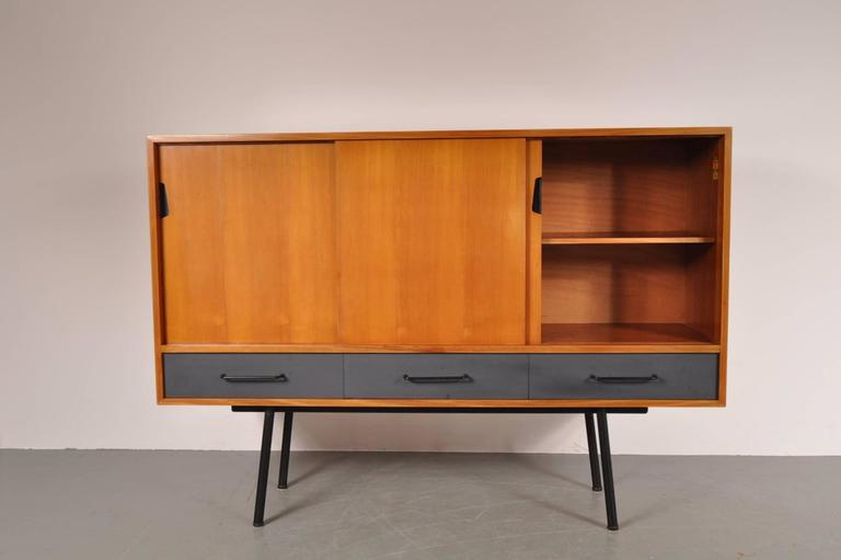 "Highboard Model ""102"" by Janine Abraham for Meubles TV, France, 1952 6"