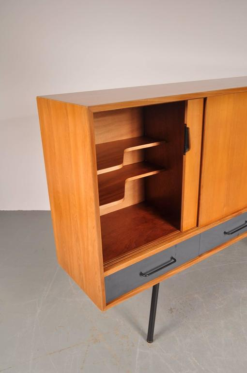 "Highboard Model ""102"" by Janine Abraham for Meubles TV, France, 1952 7"