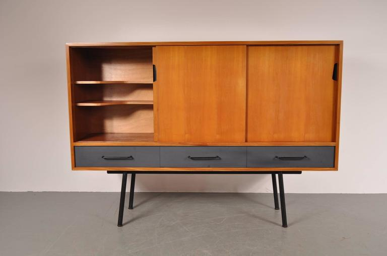 "Highboard Model ""102"" by Janine Abraham for Meubles TV, France, 1952 4"