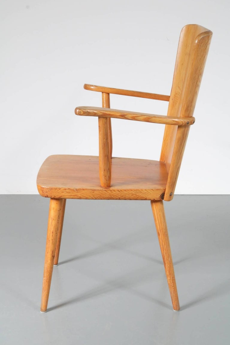 Mid-Century Modern Chair Model 510 by Goran Malmvall for Karl Andersson & Son, Denmark, 1930-1940 For Sale