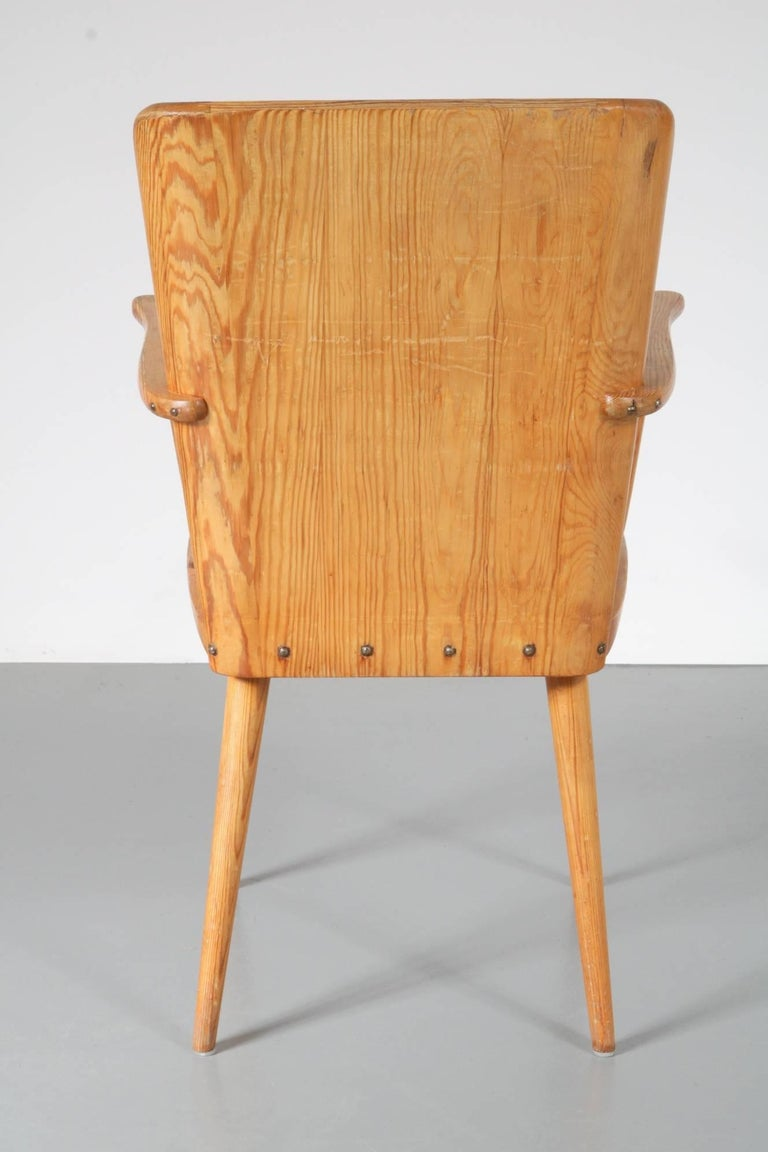 Danish Chair Model 510 by Goran Malmvall for Karl Andersson & Son, Denmark, 1930-1940 For Sale
