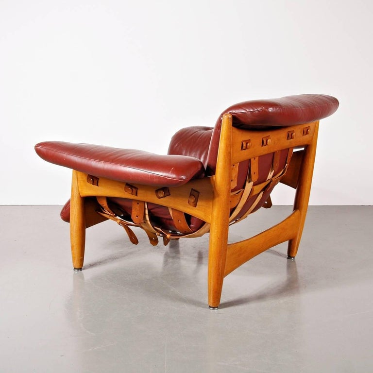 20th Century Sergio Rodrigues Sheriff Chair for ISA Bergamo, Italy, 1960 For Sale