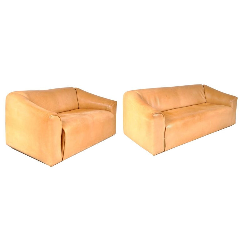 Set of Two DS47 Sofas by De Sede, Switzerland, circa 1960