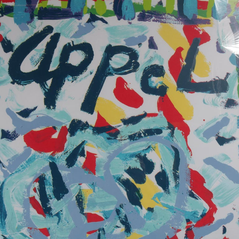 Karel Appel Lithograph for the Bols Art Exhibition, Brazil 1981 In Good Condition For Sale In Amsterdam, NL