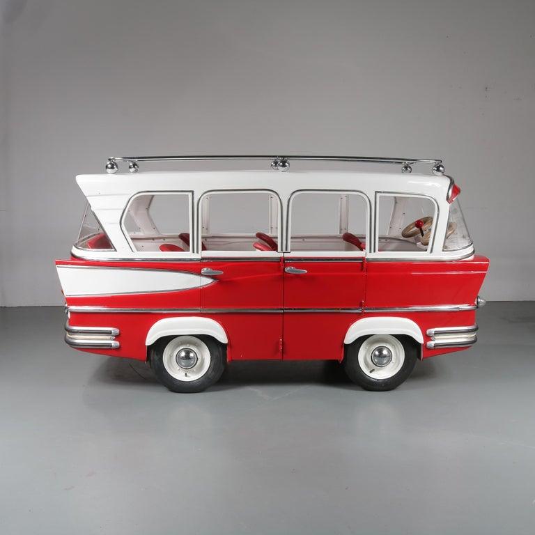 Rare l'Autopede Carousel Bus by Karel Baeyens, Belgium, 1955 For Sale 5