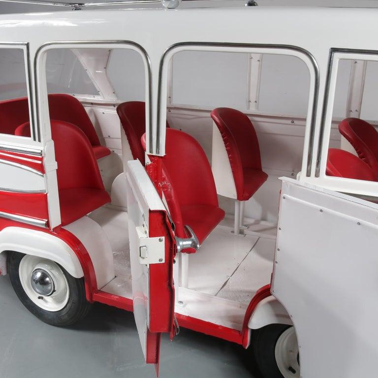 Rare l'Autopede Carousel Bus by Karel Baeyens, Belgium, 1955 For Sale 8