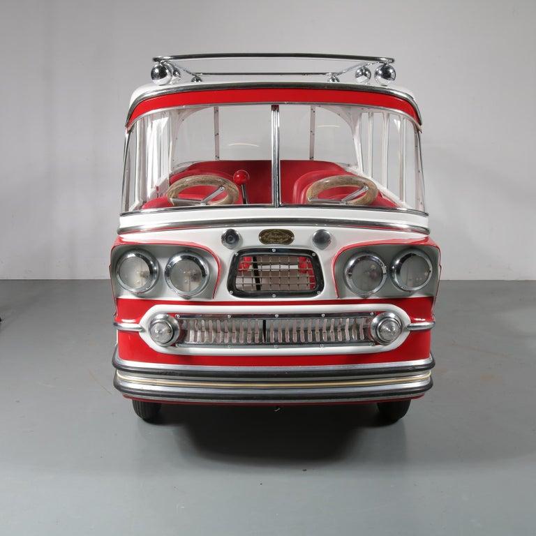 Rare l'Autopede Carousel Bus by Karel Baeyens, Belgium, 1955 For Sale 10