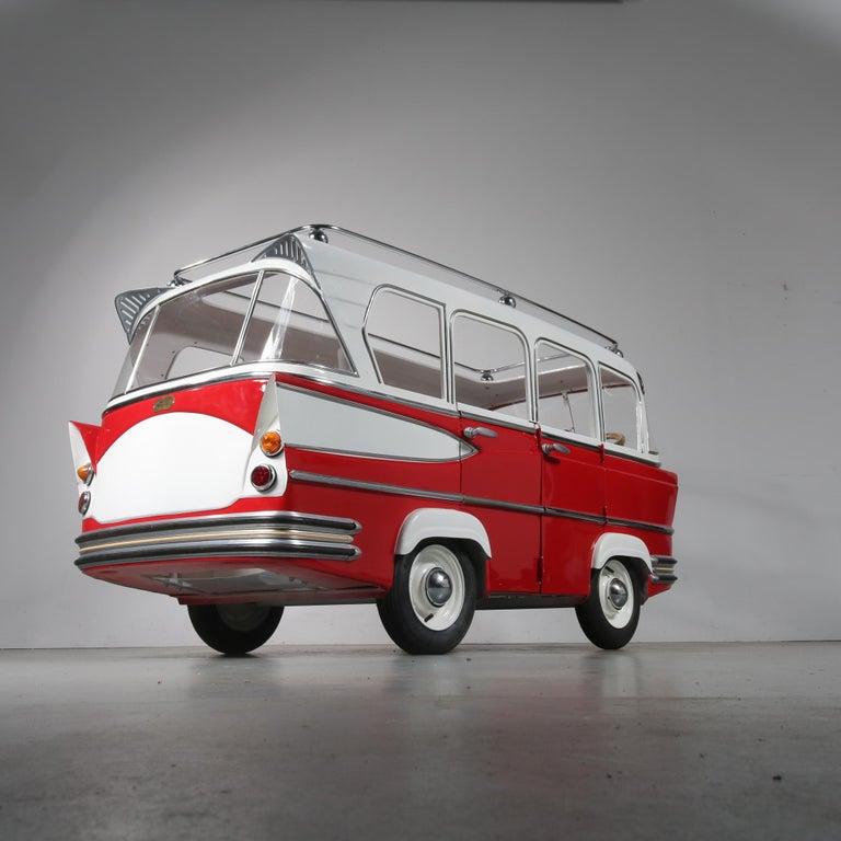 Rare l'Autopede Carousel Bus by Karel Baeyens, Belgium, 1955 For Sale 11