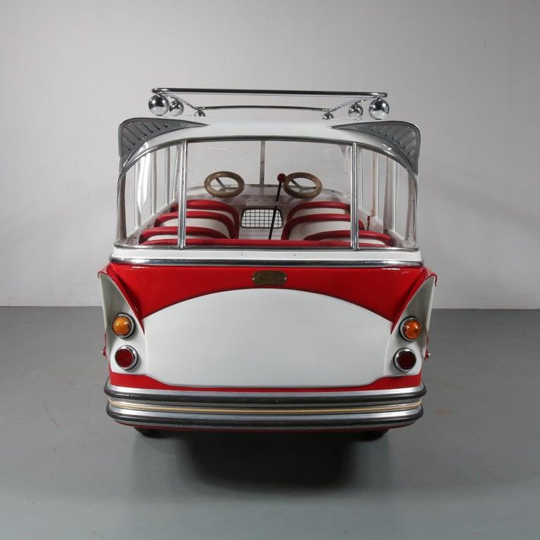 Rare l'Autopede Carousel Bus by Karel Baeyens, Belgium, 1955 For Sale 12
