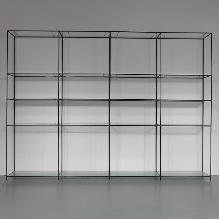Danish Large Abstracta System Cabinet by Poul Cadovius, Denmark, 1950 For Sale