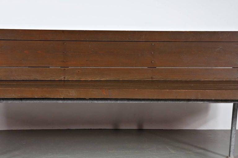Rare Dom Hans van der Laan Bench, 1967 In Good Condition For Sale In Amsterdam, NL