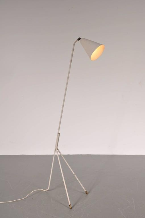 Floor Lamp By Svend Aage Holm Sorensen Circa 1950 For