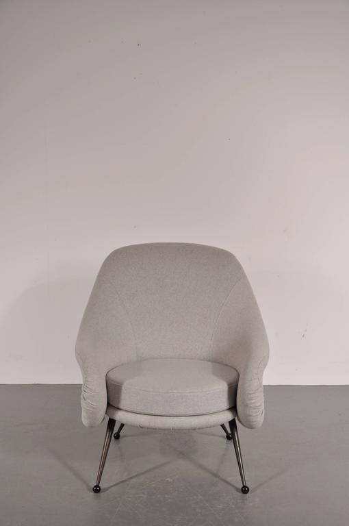 Stunning early edition martingala chair by Marco Zanuso, manufactured by Arflex, Italy, circa 1950.