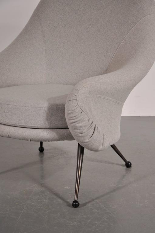 Mid-20th Century Martingala Chair by Marco Zanuso for Arflex, Italy, circa 1950 For Sale