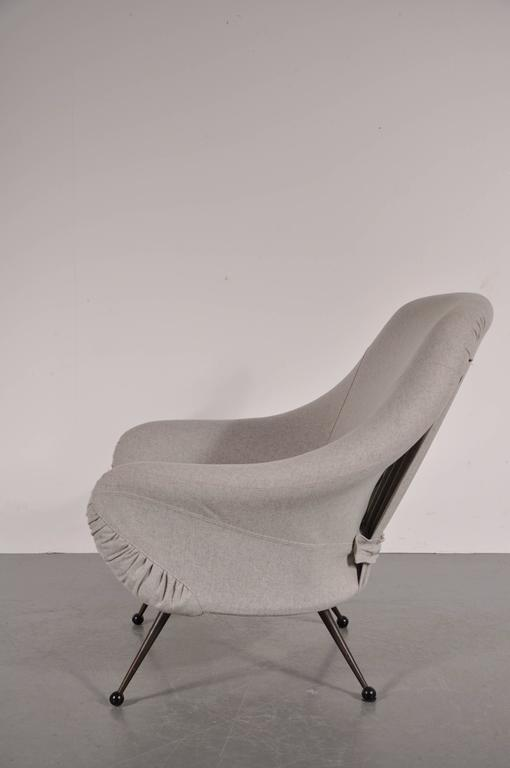 Italian Martingala Chair by Marco Zanuso for Arflex, Italy, circa 1950 For Sale