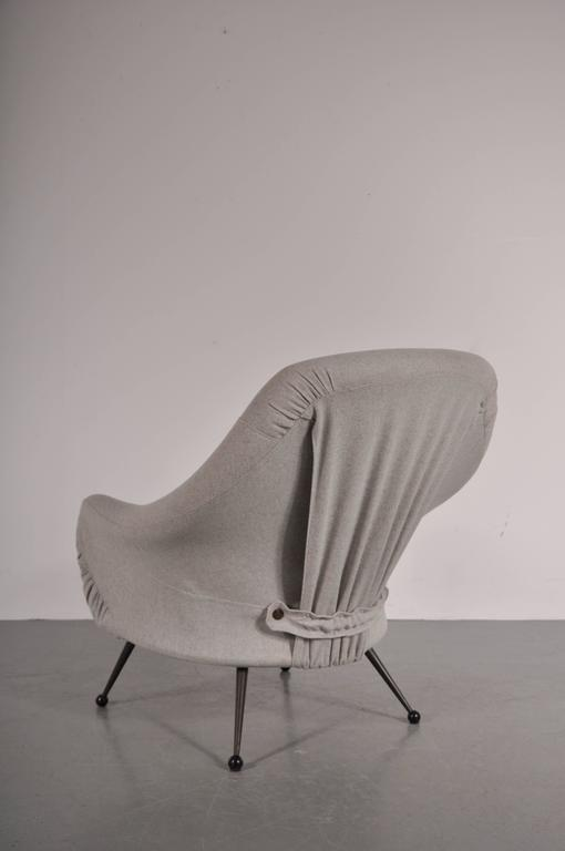 Martingala Chair by Marco Zanuso for Arflex, Italy, circa 1950 For Sale 2