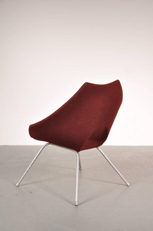 Easy Chair by Augusto Bozzi for Saporiti Italy, circa 1950 For Sale 1