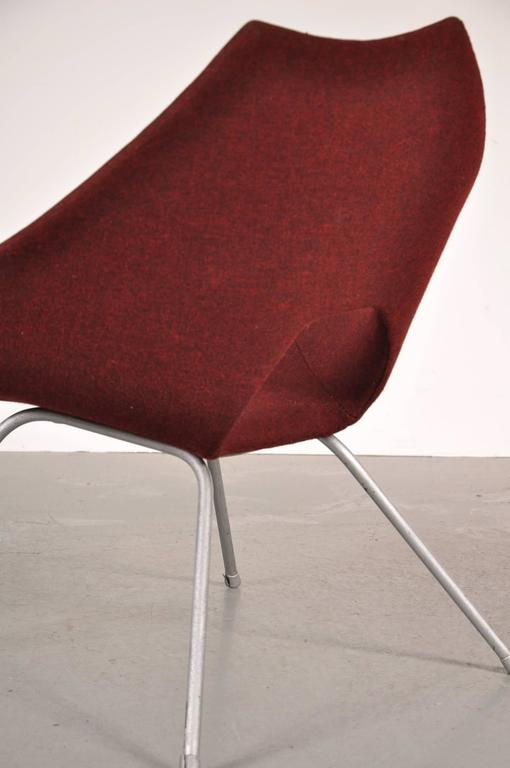 Lacquered Easy Chair by Augusto Bozzi for Saporiti Italy, circa 1950 For Sale