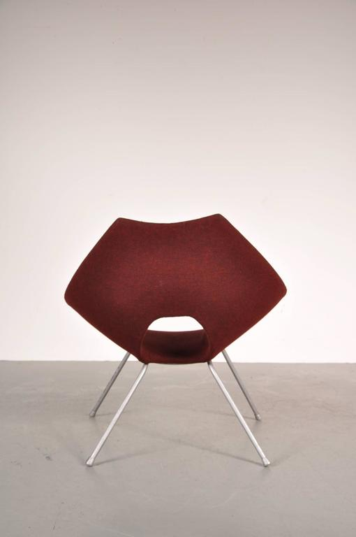 Easy Chair by Augusto Bozzi for Saporiti Italy, circa 1950 In Good Condition For Sale In Amsterdam, NL