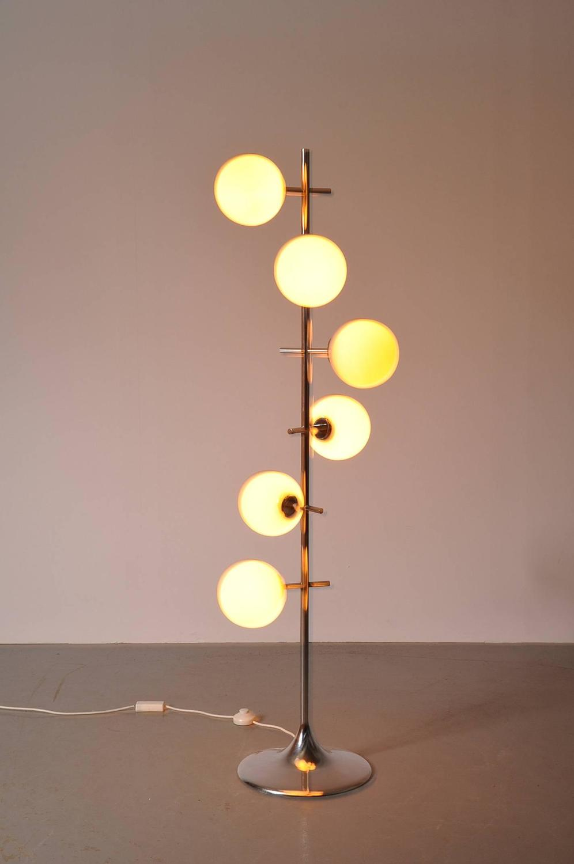 Rare Max Bill Floor Lamp, Switzerland, circa 1960 at 1stdibs