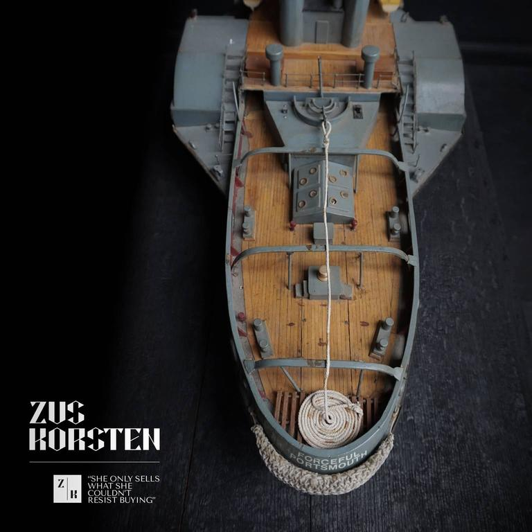20th Century Paddle Wheel Boat Model, 1960 For Sale