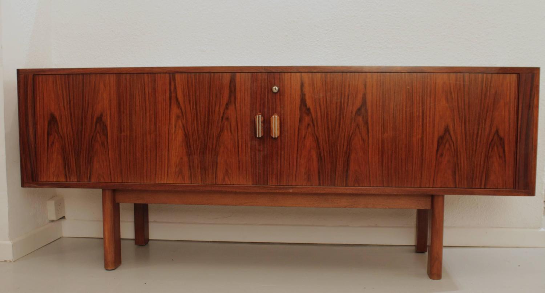 arne vodder rosewood sideboard at 1stdibs. Black Bedroom Furniture Sets. Home Design Ideas