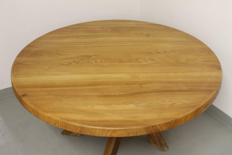 French Pierre Chapo T21 Dining Table For Sale