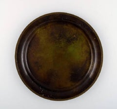Just Andersen, a Bronze Bowl/Dish, 1930s-1940s