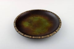 Just Andersen Art Deco Bronze Bowl/Dish, Denmark, 1930s-1940s
