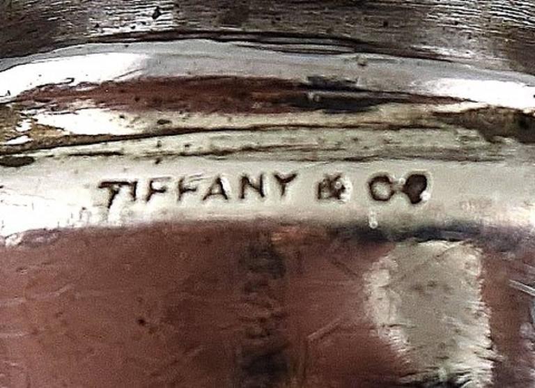 North American Six Knives by Tiffany & Co., New York, Dinner Knives in Silver For Sale
