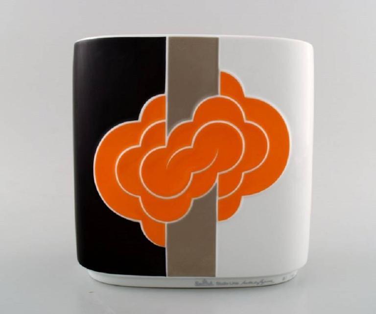 Rosenthal Studio Line Natale Sapone Porcelain Vase At 1stdibs