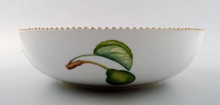 Danish Royal Copenhagen Flora Danica Large Salad Bowl