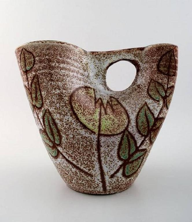French Ceramic Vase Picasso Style For Sale At 1stdibs