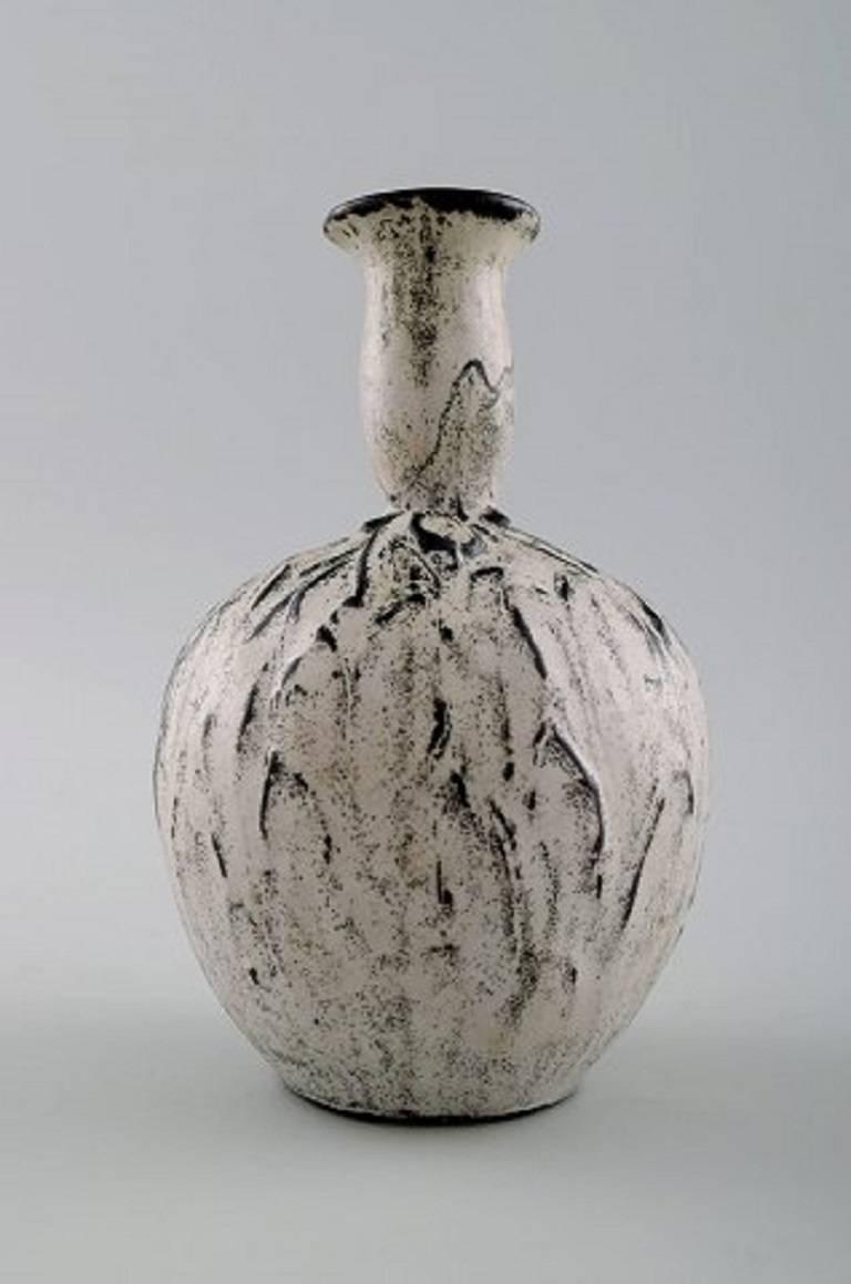 k hler denmark glazed vase 1930s designed by svend hammersh i at 1stdibs. Black Bedroom Furniture Sets. Home Design Ideas