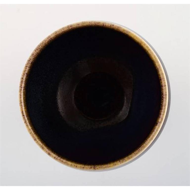 Stig Lindberg Gustavsberg Studio, Art Pottery Vase In Excellent Condition For Sale In Copenhagen, Denmark