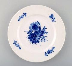 Blue Flower Four Lunch Plates from Royal Copenhagen
