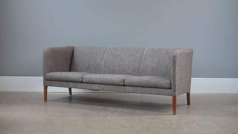 Scandinavian Modern Hans Wegner Sofa For Sale