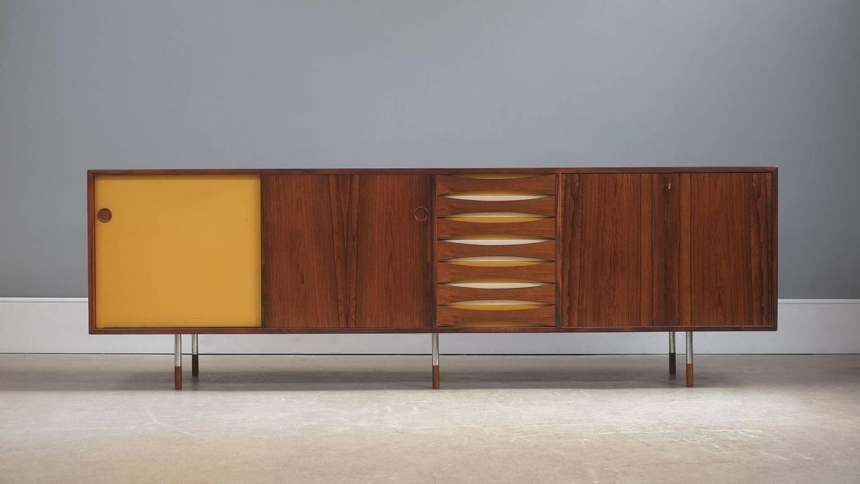 arne vodder triennale sideboard for sale at 1stdibs. Black Bedroom Furniture Sets. Home Design Ideas