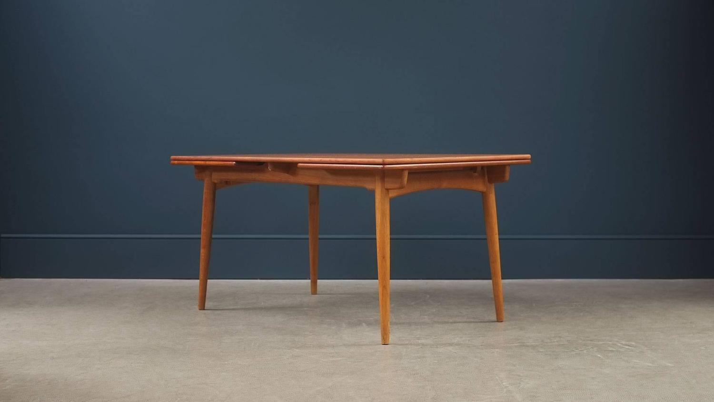 Hans Wegner AT312 Dining Table at 1stdibs : HansWegner312Table4z from www.1stdibs.com size 1500 x 844 jpeg 57kB