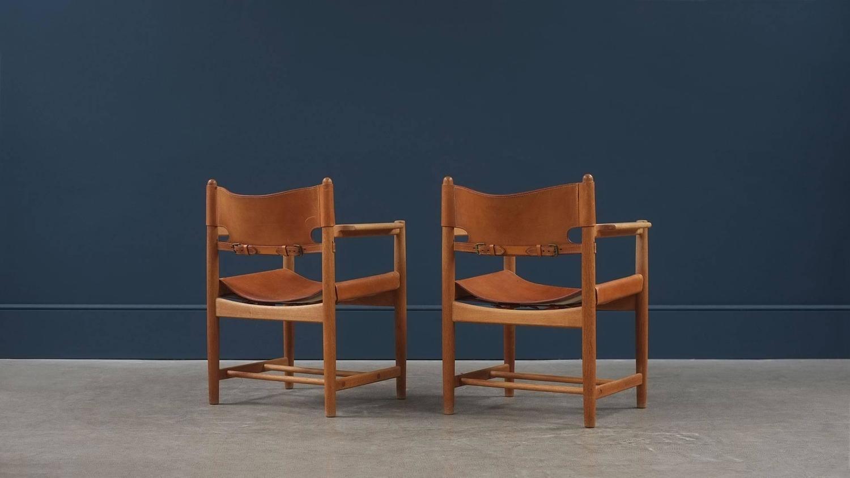 b rge mogensen armchairs at 1stdibs. Black Bedroom Furniture Sets. Home Design Ideas
