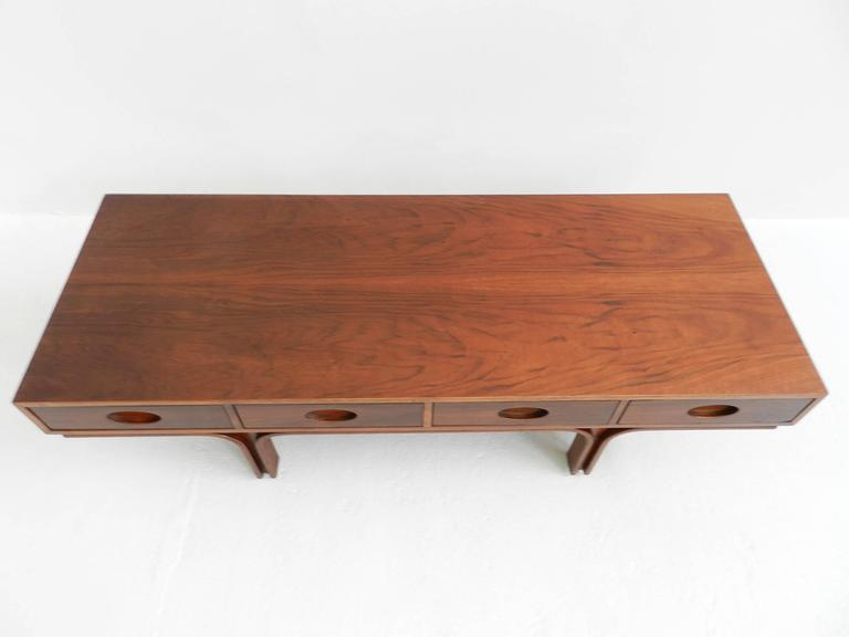 Mid-Century Modern Center Bench by Gianfranco Frattini For Sale