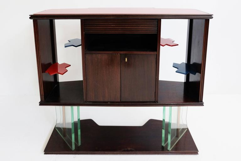 1950, Iconic Italian Design Dry Bar For Sale 3