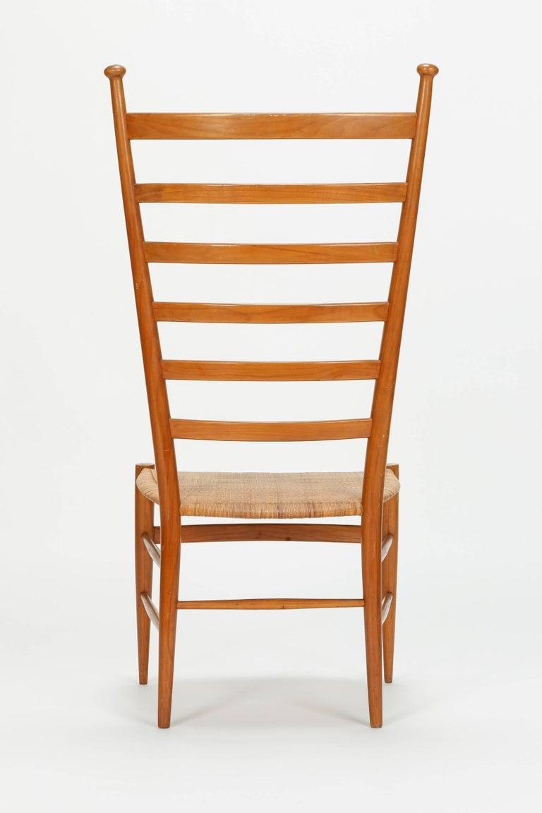 Italian Sanguineti Chair Chiavari, 1950s For Sale