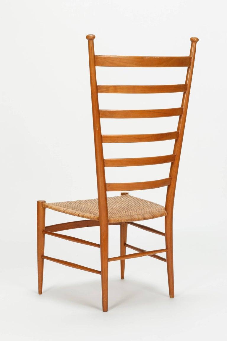 Mid-20th Century Sanguineti Chair Chiavari, 1950s For Sale