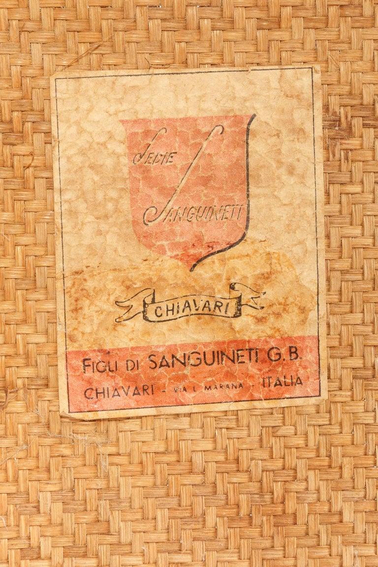 Sanguineti Chair Chiavari, 1950s For Sale 3