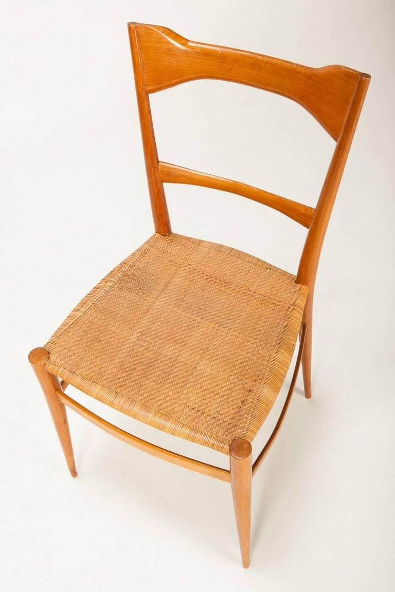 Italian Chiavari Chair Emanuele Rambaldi 1950s For Sale
