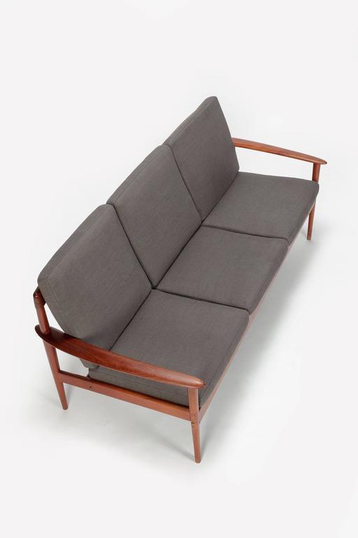Early grete jalk sofa for p jeppesen teak pj 56 3 1950s for P jeppesen furniture