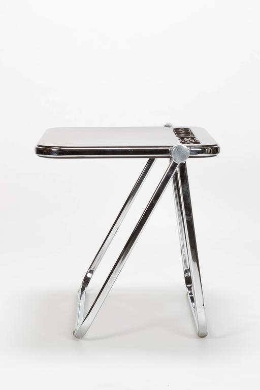 Mid-Century Modern Giancarlo Piretti Writing Desk Platone Castelli, 1970s For Sale