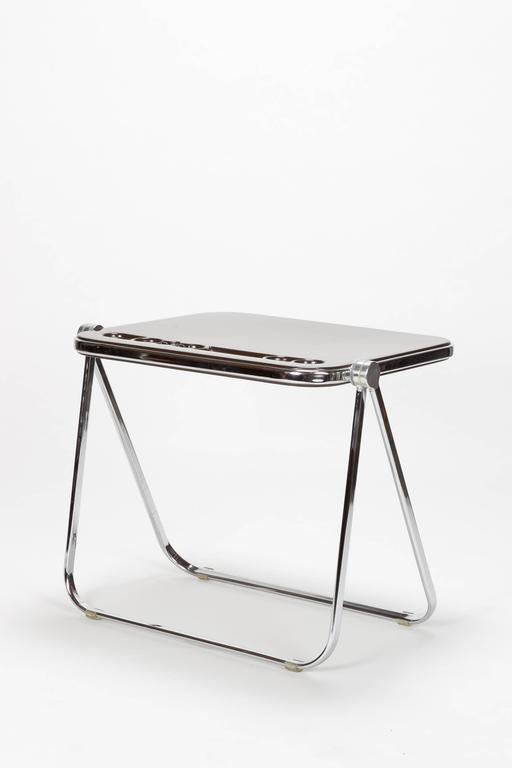 Italian Giancarlo Piretti Writing Desk Platone Castelli, 1970s For Sale
