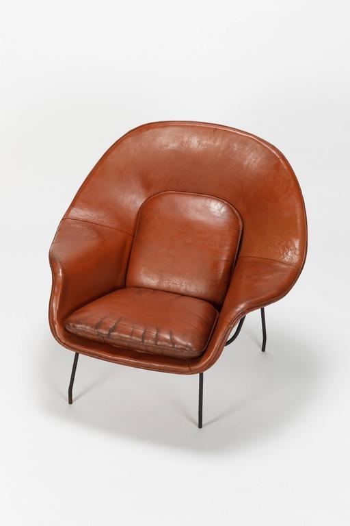 Eero Saarinen Womb Chair Florence Knoll 1948 At 1stdibs